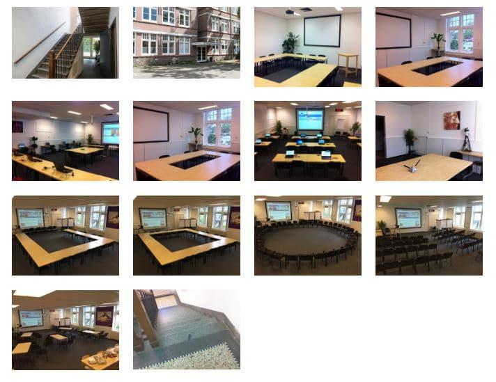 Utrecht vergaderruimte Pieterskerkhof